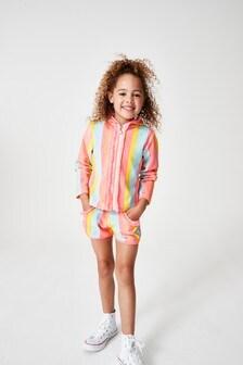 Billie Blush Multi Stripe Jacket