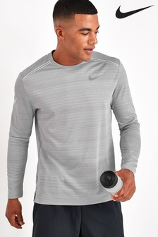 Nike Run Miler Long Sleeved T-Shirt