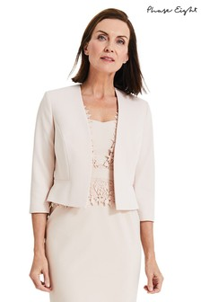 Phase Eight Pink Talita Edge To Edge Jacket