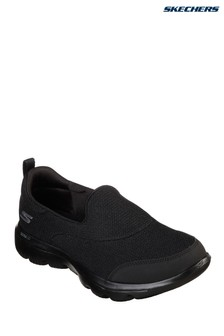 f61b7e77d626 Skechers® Black Go Walk Evolution Ultra Reach Trainer
