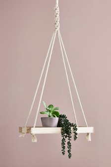 Macramé Shelf