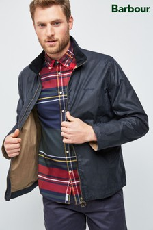 Barbour® Navy Lightweight Admiralty 4oz Waxed Jacket