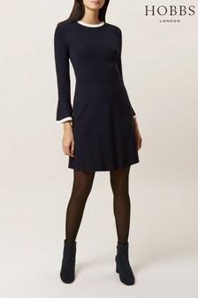 Hobbs Blue Willow Dress