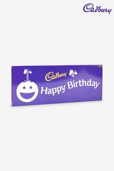 Cadbury Dairy Milk 850g Happy Birthday Chocolate Bar