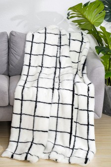 Eliza Faux Fur Throw