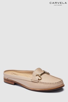 Carvela Comfort Nude Leather Clayton Loafer