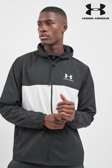 Chaqueta cortavientos negra de Under Armour