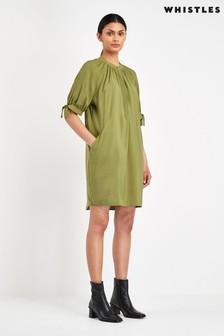 Whistles Olive Celestine Dress