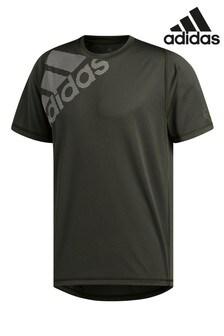 adidas Charcoal Badge Of Sport T-Shirt