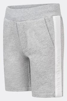 Moncler Enfant Boys Grey Cotton Shorts