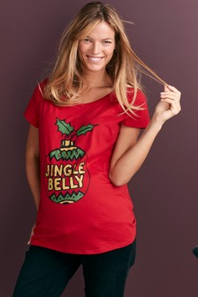 Maternity Christmas T-Shirt