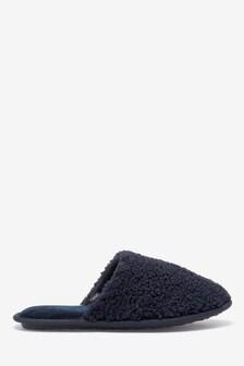 Borg Mule Slippers