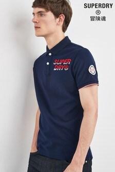 Superdry Navy Champion Poloshirt