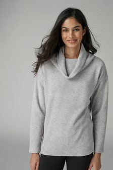 Supersoft Stretch Fleece Top
