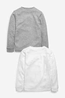 2 Pack Long Sleeved Thermal Tops (2-16yrs)