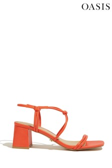 Oasis Coral Willow Knotted Sandals