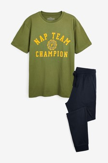 Nap Team Cuffed Jersey Long Set