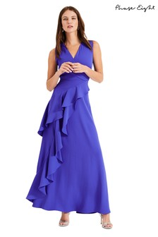 Phase Eight Blue Constansie Maxi Dress