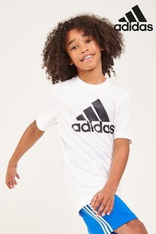 adidas Badge Of Sport White Tee