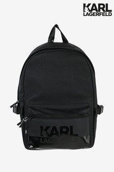 Karl Lagerfeld Black Backpack