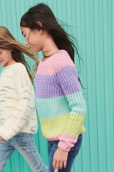 Rainbow Sweater (3-16yrs)