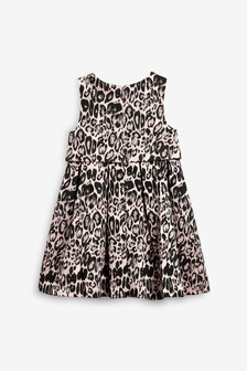 Animal Print Dress (3-16yrs)
