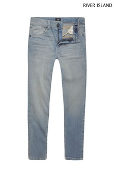 River Island Danny Jeans in heller Waschung