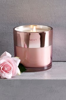 Rosewater and Raspberry Candle