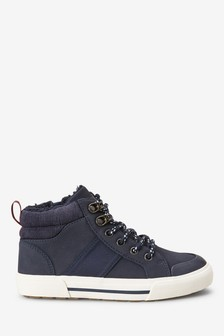Warm Lined Skate Lace-Up Boots (Older)