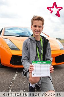 Double Supercar Blast For Juniors Gift Experience by Activity Superstore