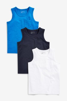 Vests Three Pack (3-16yrs)