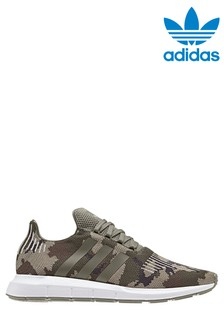adidas Originals Green Camo Swift