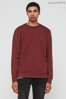 AllSaints Ruby Red Marl Raven Sweatshirt