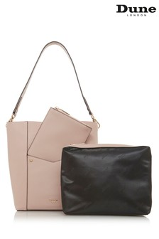 Dune Accessories Pink Medium Bucket Bag