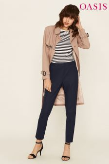 Oasis Navy Workwear Trouser