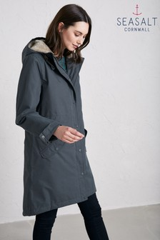 Seasalt Grey Graphite Plant Hunter 2 Coat