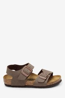 Birkenstock® Kids' Mocha New York Sandal