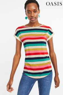 0aa34d2a627b Oasis T Shirts | Oasis Printed & Lace T Shirts For Women | Next