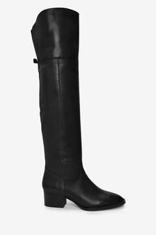 Signature Comfort Over The Knee Boots