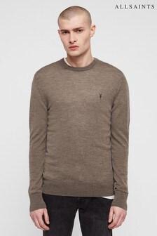 AllSaints Mode Merinopullover, khaki