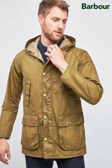 Barbour® Sand Lightweight Hooded Bedale 4oz Waxed Jacket
