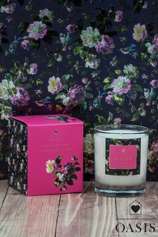 Oasis Rose Patchouli Candle