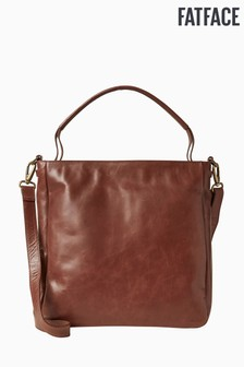 FatFace Brown Heidi Hobo Bag