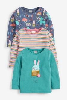Набор из 3 футболок с принтом (3 мес.-7 лет)