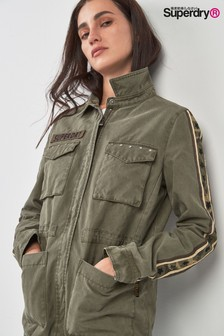 Superdry Khaki Rookie Star Jacket