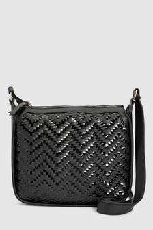 Black · Tan · Weave Saddle Bag 917903249e072