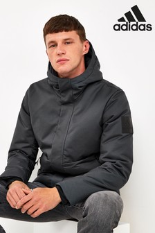 adidas Carbon Grey Climawarm Jacket