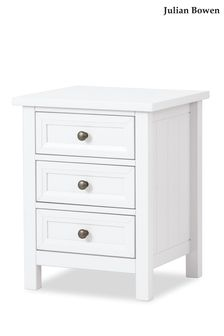 Harbour White Bedside Table