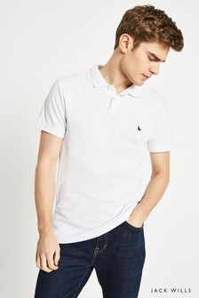 Polo Jack Wills Aldgrove blanc