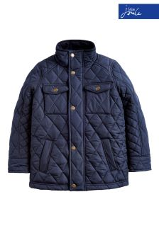 Joules Navy Stafford Quilted Jacket